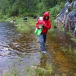 Karen og Kåre går på stien