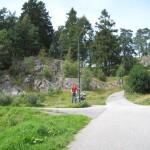En tur i parken - ikke helt det samme som her i landet