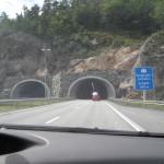En af de mange tunneler