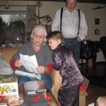 Ellens gave til mormor og morfar