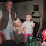 Karen med Katrine og Jim