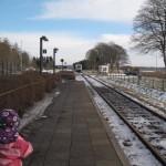 Så kører toget mod Århus