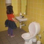 Toilet i pygmæstørrelse
