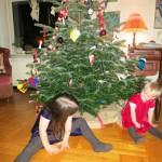 Juletræsleg