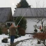 Morfar afprøver julegave