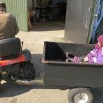Og en lidt større traktor