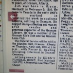 Onkels Jens' obituary