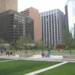 Park i midten af byen