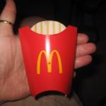 Børnestørrelse pommes frites