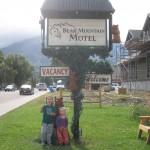 Foran motellet