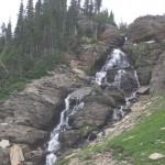 Flot vandfald